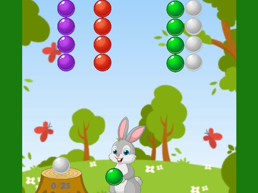 Rabbit Bubble Shooter online hra