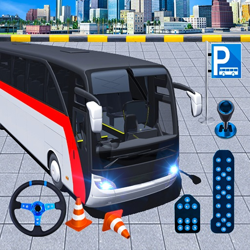 Modern Bus Parking Advance Bus Games