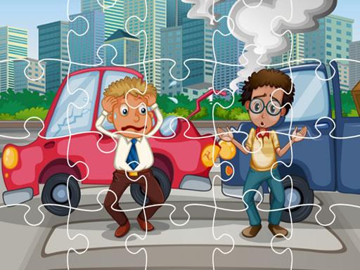 Crash Car Jigsaw