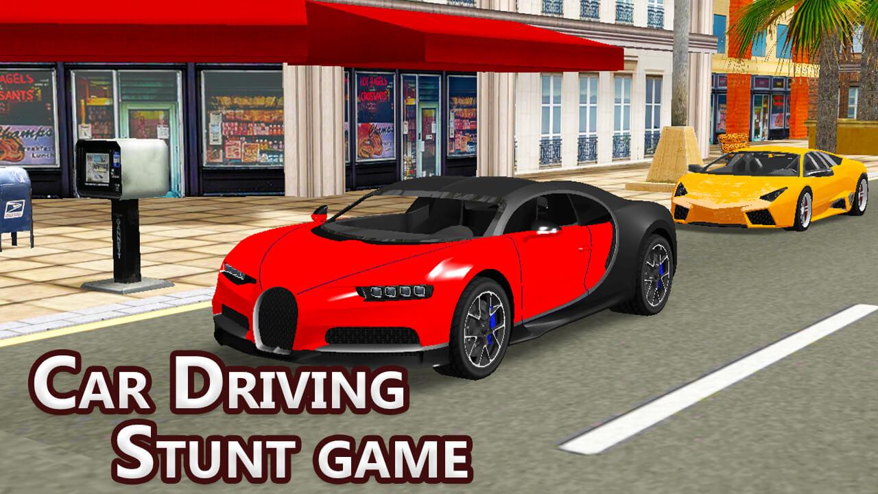 Jeu de conduite automobile