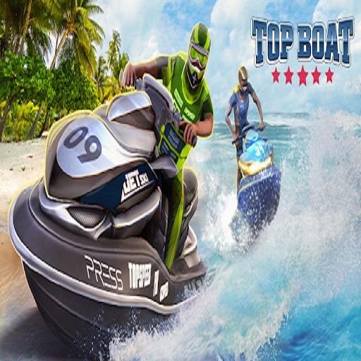 Top Boat Water Jet Sky Simulator Racing 3D