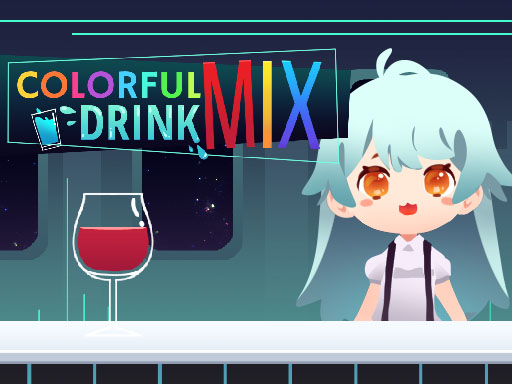 Colorful Mix Drink online hra