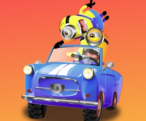 Minions Crazy Racing