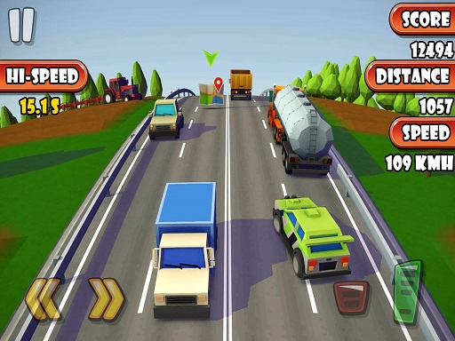 Furious Highway Road Car Game
