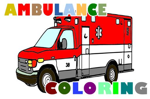 Ambulans Arabası Boyama