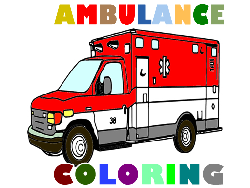 Ambulance Trucks Coloring ...