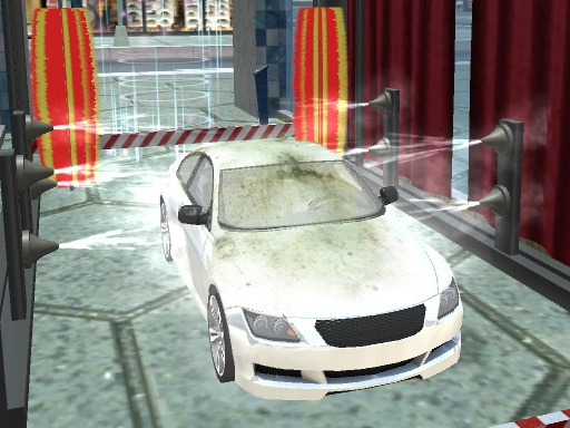 Sports Car Wash online hra
