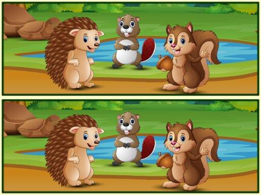 一起來找碴~森林版--Spot The Differences Forests-這是一款 Spot the Difference 類型的益智遊戲,玩家必須在兩個其他相似的圖像之間找到至少 5 個不同之處。 使用滑鼠或觸摸板點擊差異。