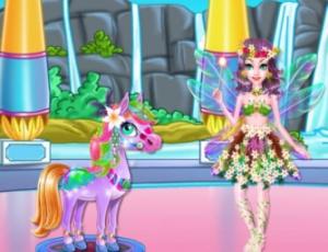 Fairy Horse Braided Hairstyles