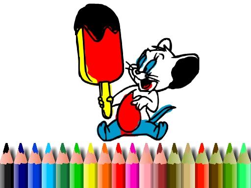 BTS Mouse Coloring online hra
