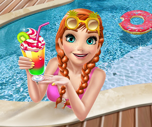 Ice Princess Pool Time online hra