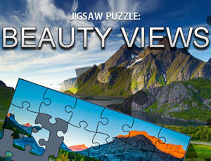 Jigsaw Puzzle Beauty Views