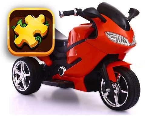 Motorbikes Jigsaw Challenge online hra