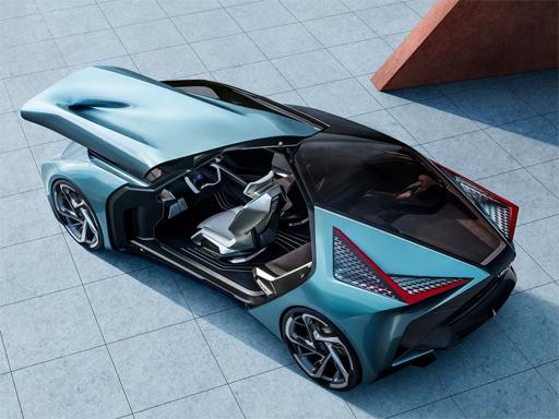 Lexus LF30 Electrified Puzzle