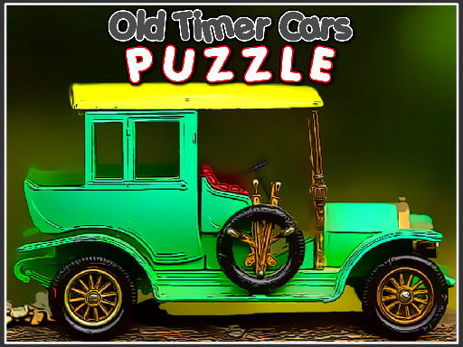 Old Timer Cars Puzzle