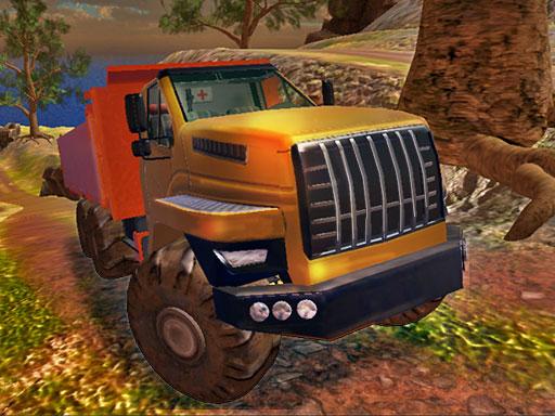越野卡車模擬器爬坡