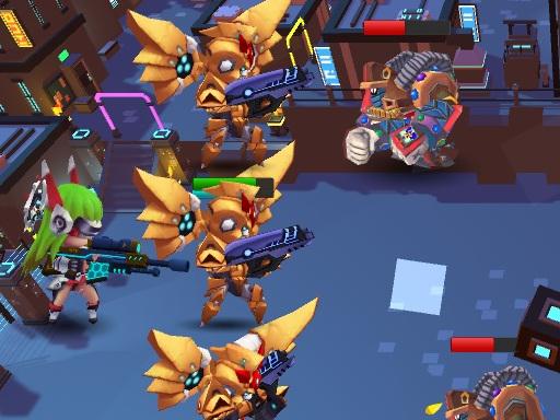 Guardians vs Zombies online hra