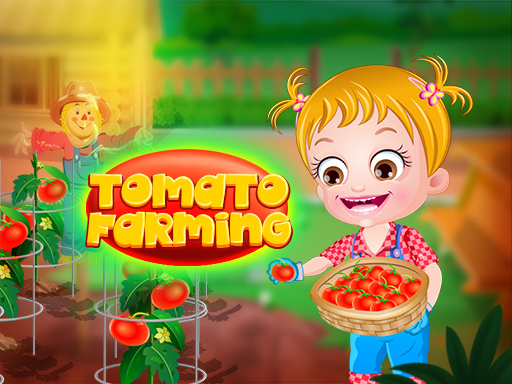Baby Hazel Tomato Farming game