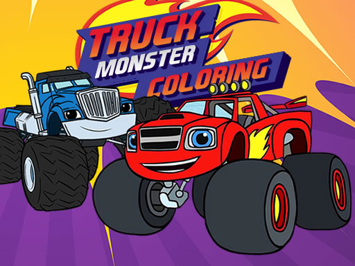 Monster Truck Coloring online hra