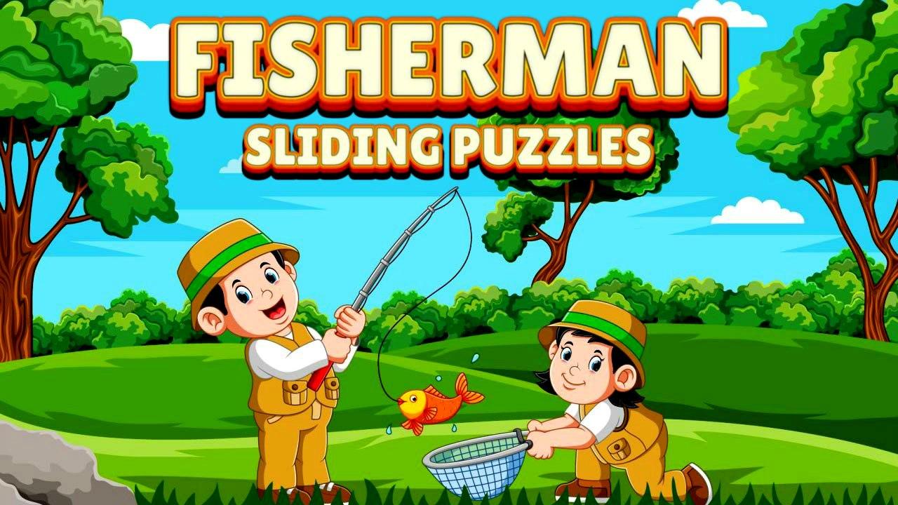 Image Fisherman Sliding Puzzles