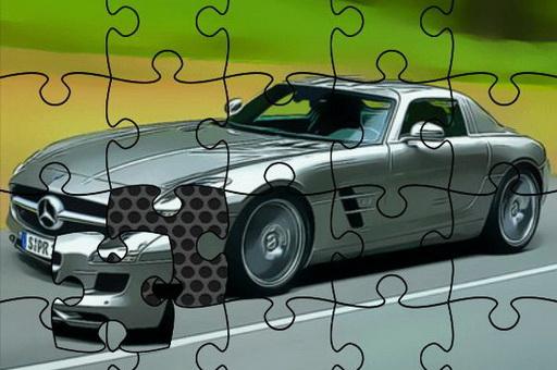 Image Fast German Cars Jigsaw