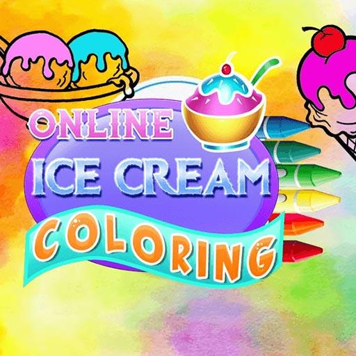 Online Ice Cream Coloring