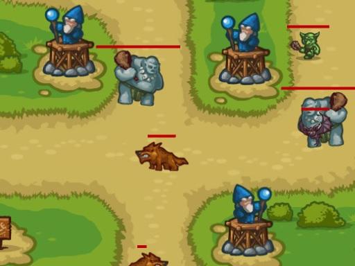 Tower Defense 2D online hra