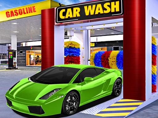 Car Wash & Gas Station Simulator online hra