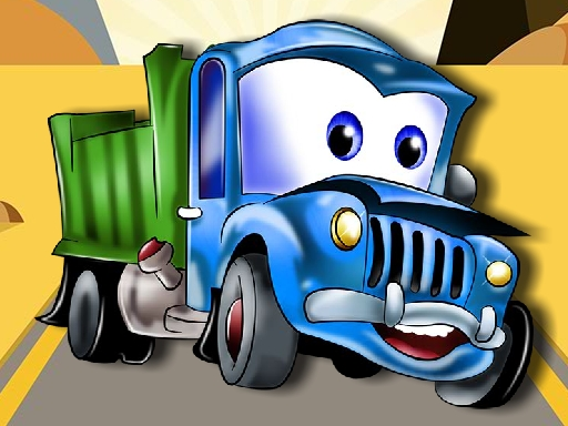 Kids Truck Puzzle online hra