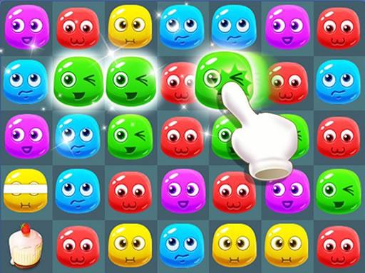 甜蜜糖果熱潮--Sweet Candy Boom-這是款邏輯益智遊戲。 如果您匹配兩個或多個相同的糖果,當您點擊它們時,它們將被銷毀。 你必須在這個遊戲中做到這一點。 但是所有的糖果都有不同的顏色,它們需要變綠才能被破壞。 在遊戲開始時,您有一個解釋顏色變化的順序,因此您將知道需要先單擊哪個糖果才能將顏色更改為綠色。 當兩個綠色糖果被摧毀時,它們會釋放出水平和垂直移動的小球,並改變其他糖果的顏色。有 90 個不同的令人敬畏的關卡。 點擊糖果和玩。