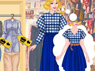 Princesses Thrift Shop Challenge online hra