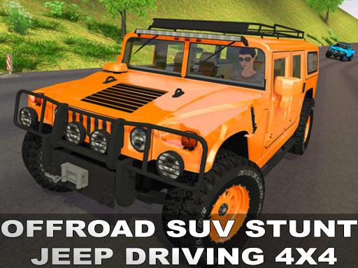 Offraod SUV Stunt Jeep Driving 4x4 online hra