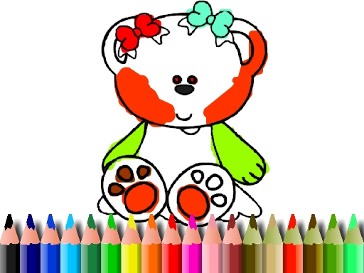 BTS Sweet Bear Coloring
