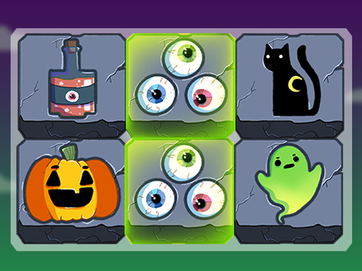 Mahjong Connect Halloween game