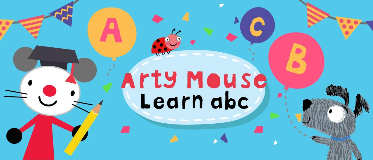 Arty mouse apprendre abc