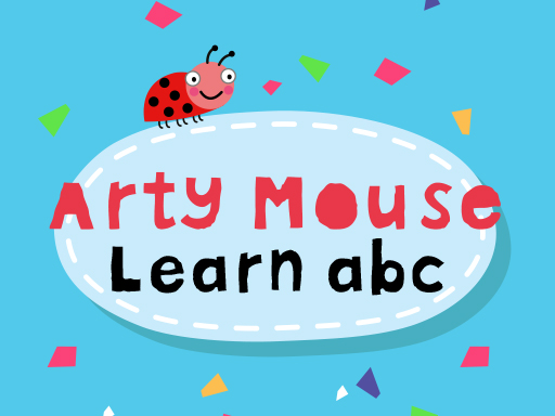 Arty Mouse Learn ABC online hra