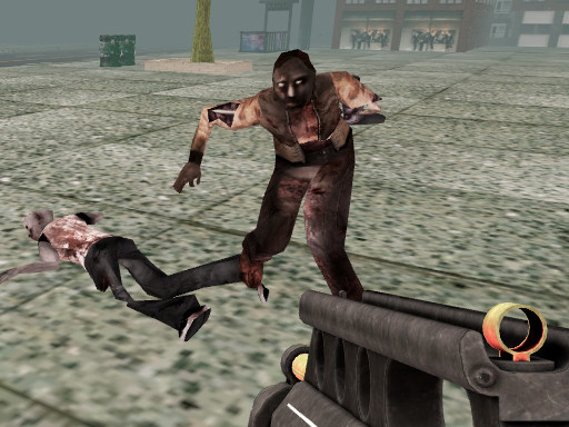 Masked Forces Zombie Survival online hra