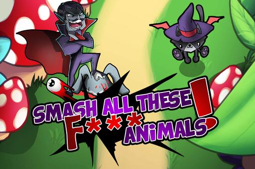 Smash tous ces animaux f