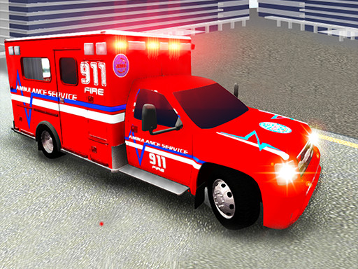 City Ambulance Driving
