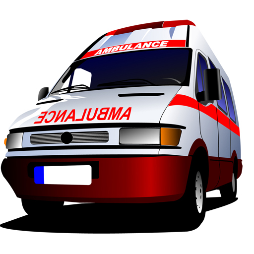 Cartoon Ambulance Slide