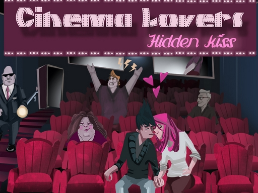 Cinema Lovers Hidden Kiss