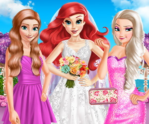 Mermaid Princess Wedding Day online hra