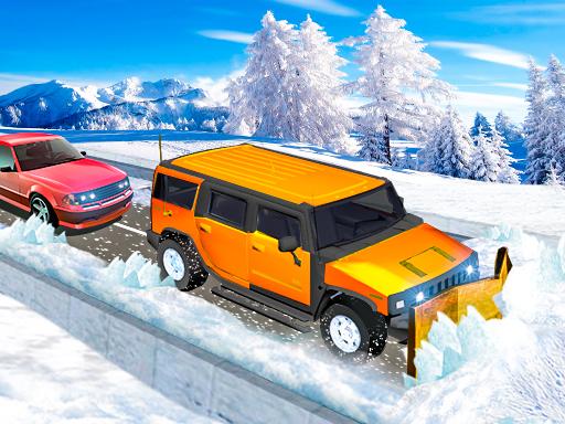 Snow Plow Jeep Simulator online hra