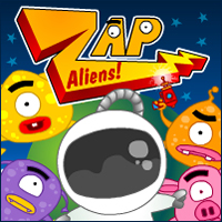 Zap Aliens Game online hra