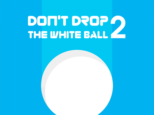 Don't Drop the White Ball 2 online hra