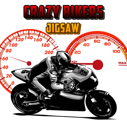 Crazy Bikers Jigsaw