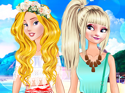 Princesses Welcome Summer Party online hra