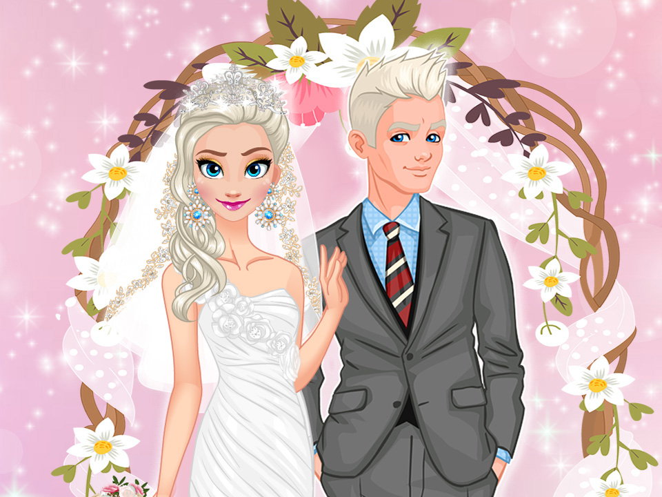 Ice Princess Wedding Day