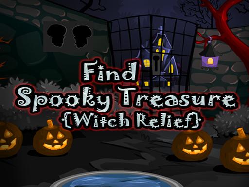 Trouvez le soulagement de la sorcière au trésor effrayant