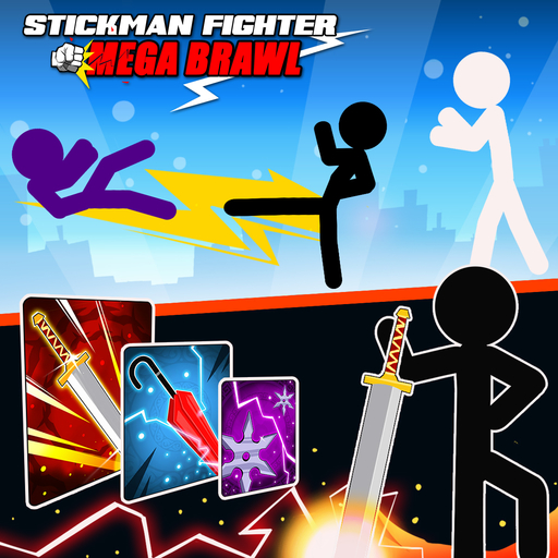 Stickman Fighter-Mega Brawl